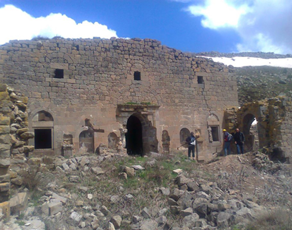 The St. Gevorg Armenian Church in the village of Canakci in the Bingol province of Turkey (Source: Horizon Weekly)