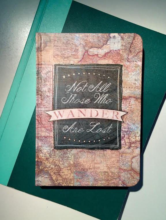 A journal, which will be filled with memories throughout the Youth Corps experience
