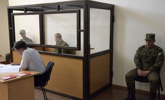 Valery Permyakov during trial (Source: Massis Post)