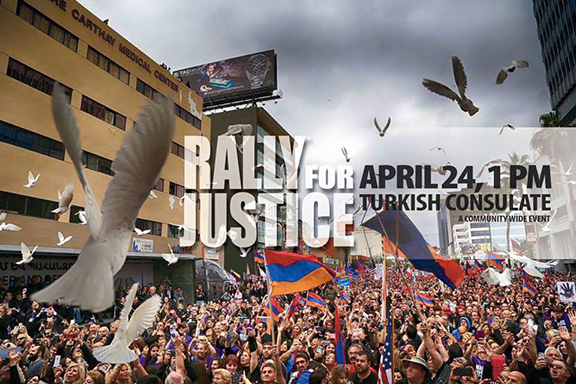 Rally for Justice will take place at 1 p.m. at the LA Turkish Consulate