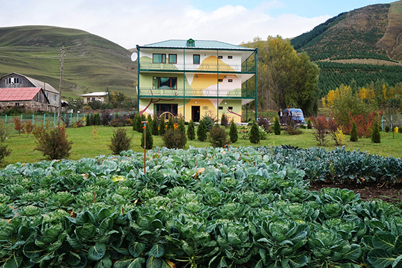 "ATP's Michael and Virginia Ohanian Center for Environmental Studies is a ""living laboratory"" for environmental education in northern Armenia."