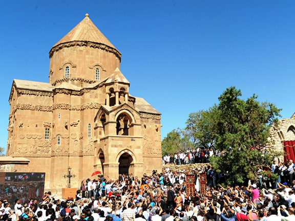 Akhtamar Church in Van, Turkey. (Source: Public Radio of Armenia)