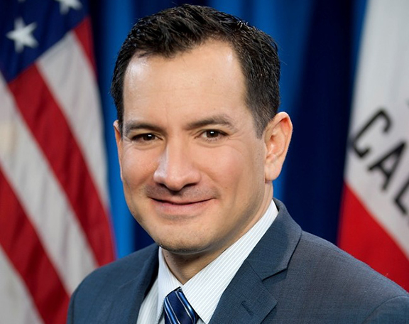 Recently elected Speaker of the California State Assembly, Anthony Rendon.