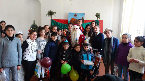 Toy Drive for children in Gyumri.