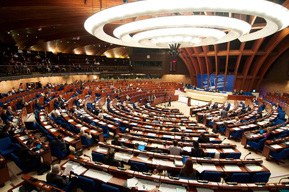 Chambers of the Parliamentary Assembly of Council of Europe
