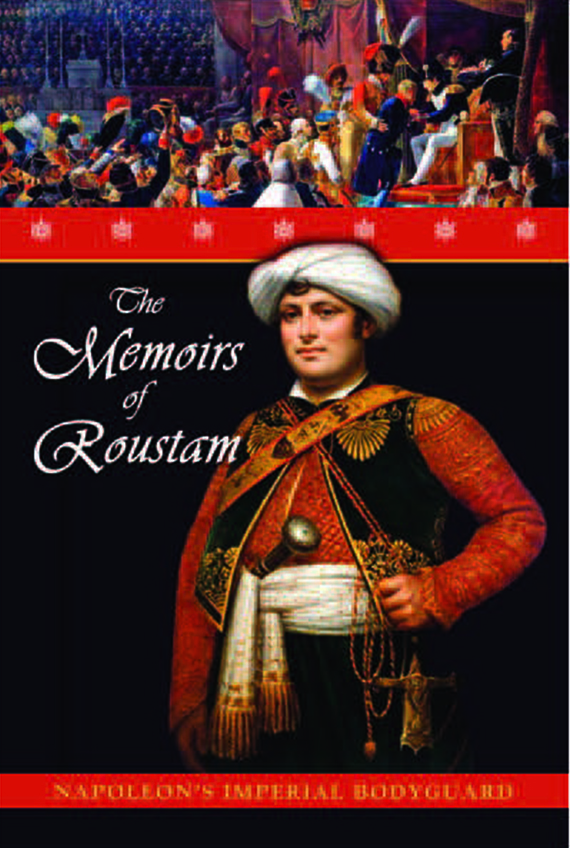 "The cover of ""Memoirs of Roustam"""