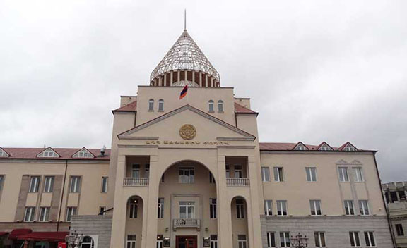 Nagorno-Karabakh National Assembly. (Source: Public Radio of Armenia)