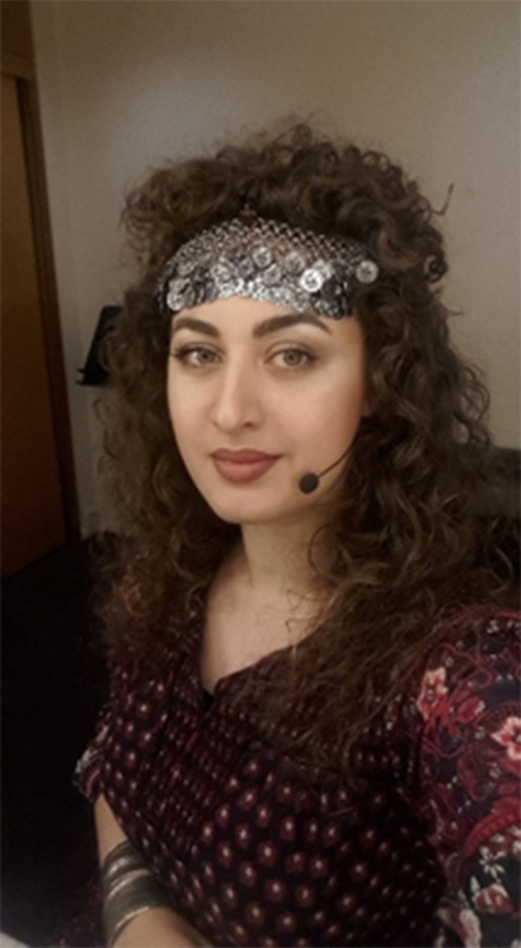 Anush Hovhannisyan in the role of Anitra, Peer Gynt