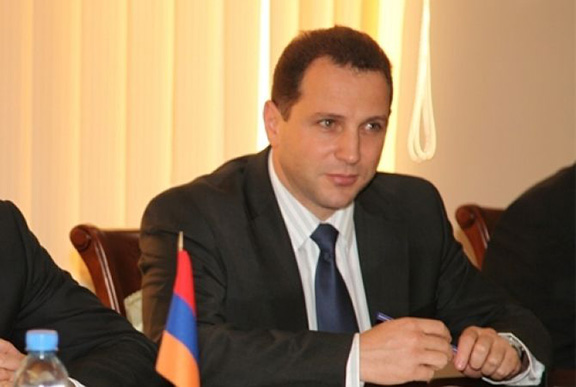 First Deputy Defense Minister, David Tonoyan. (Source: Armenpress)