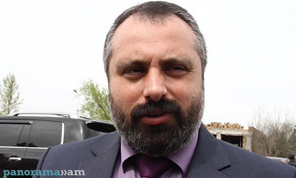 Nagorno Karabakh President Press Secretary David Babayan. (Source: Panorama.am)