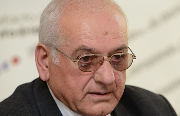 Garnik Markarian, the leader of the Fatherland and Honor party. (Source: RFE/RL)