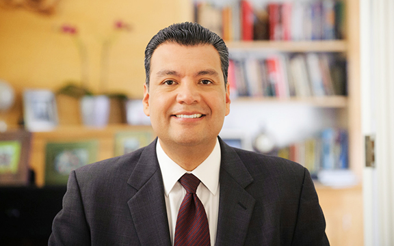 Calif. Secretary of State Alex Padilla