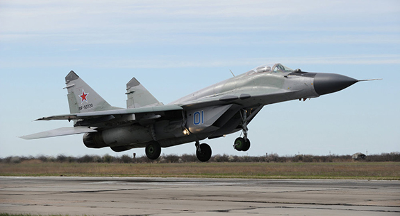 MiG-29 Fighter Jet (Source: Sputnik News)