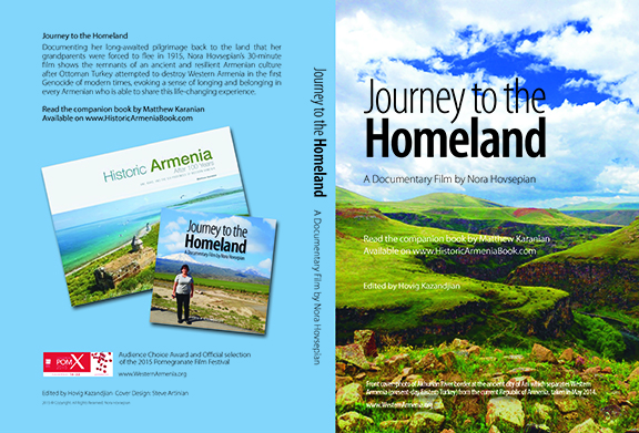 "The cover art for ""Journey to the Homeland"""