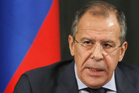 Russian Foreign Minister Sergey Lavrov. (Source: Armenpress)