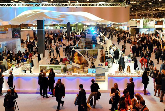 "Past picture of ""Fitur"" in Madrid. (Source: Armenpress)"