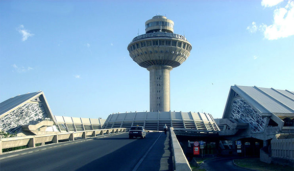 Zvartnots Aiport in Armenia. (Source: 1tv.am)