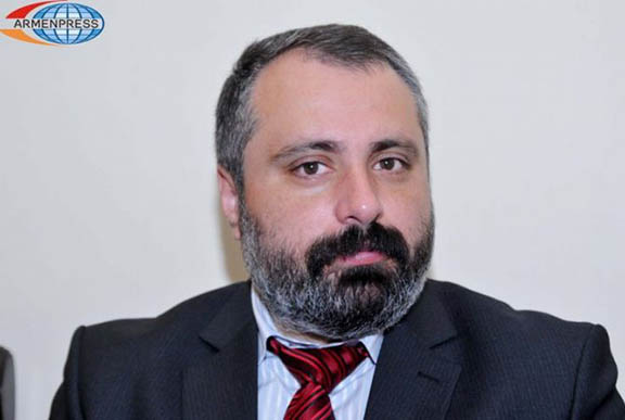 Artsakh President Spokesperson David Babayan (Source: Armenpress)