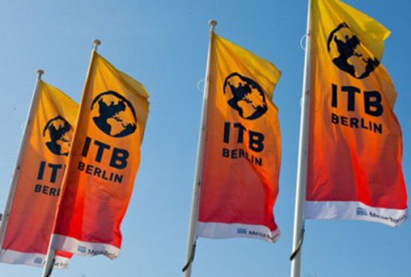 ITB Berlin Show flags