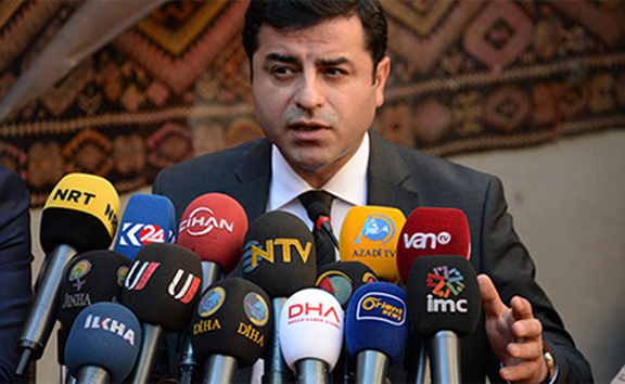 Pro-Kurdish Peoples' Democratic Party (HDP) Co-chair Selahattin Demirtas. (Source: DHA)