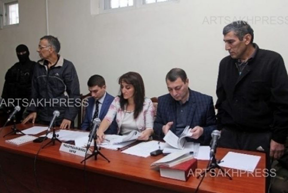 ICRC Representatives during a press conference. (Souce: Artsakhpress)