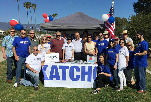 Group photo from Katcho's Kick-Off Campaign