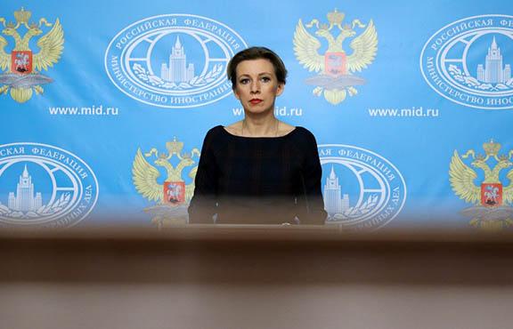 Russian Foreign Ministry spokeswoman Maria Zakharova (Source:  Artyom Geodakyan)