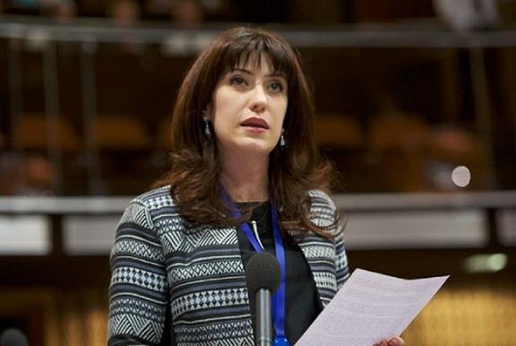 Armenian Parliamentarian Naira Karapetyan. (Source: Armenpress)