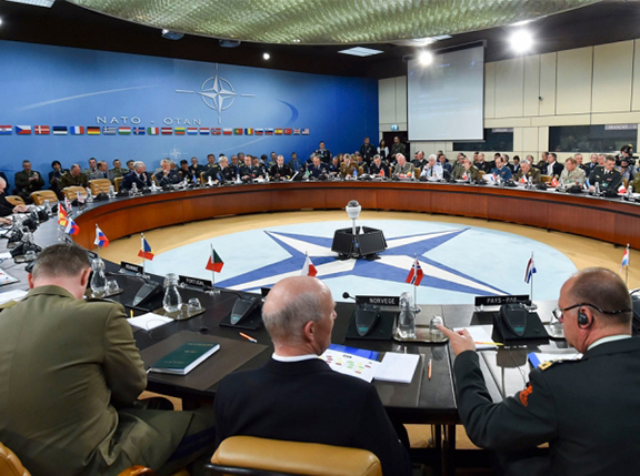 Session of NATO. (Source: NATO)
