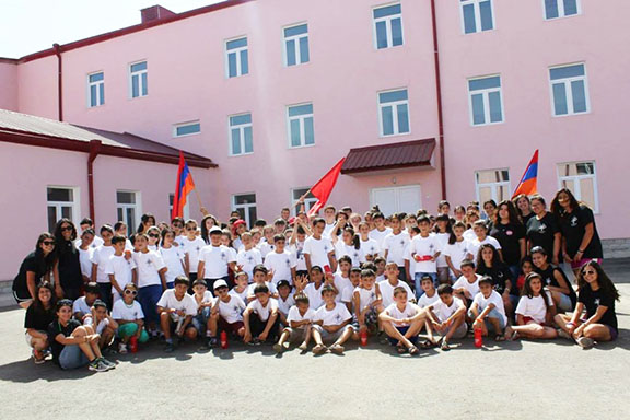 AYF Youth Corps participants in Martuni in 2014