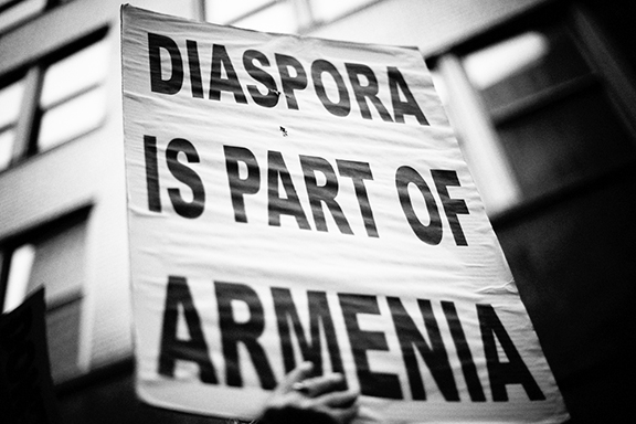 'Diaspora is part of Armenia' (Photo: Scout Tufankjian)