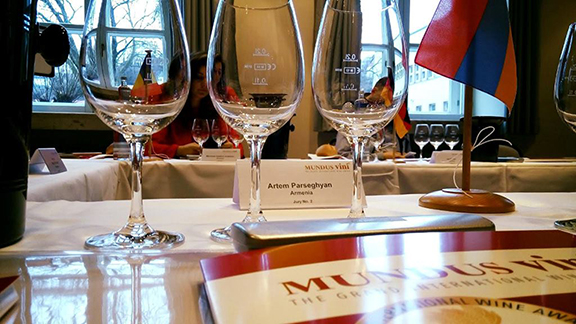 Armenian wine won 23 medals at the 2017 Mundus Vini Grand International Wine Awards in Neustadt, Germany (Photo: Ministry of Agriculture of Armenia)