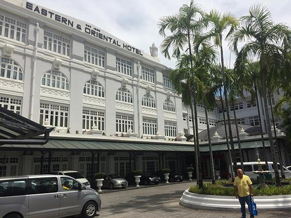 E&O (Eastern & Oriental) Hotel in Penang