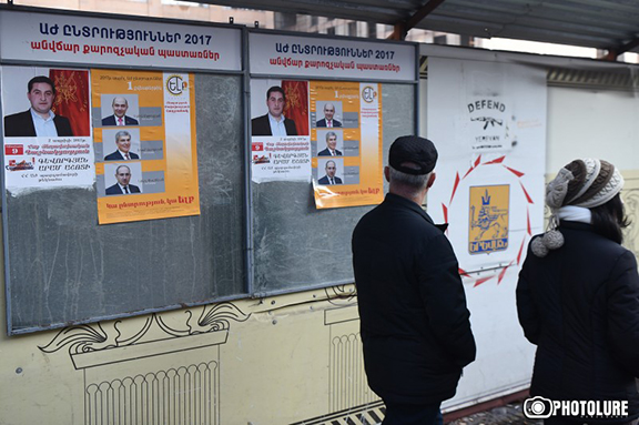 Parliamentary election campaign kicks off in Armenia on Monday, March 6, 2017 (Photo: Photolure)