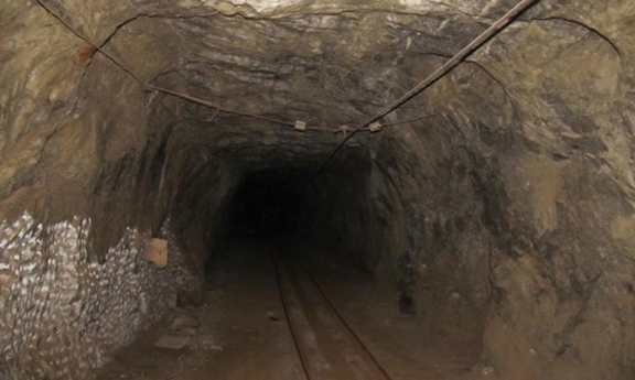 The cosmic ray lab was created in an underground saltmine in Avan, Armenia