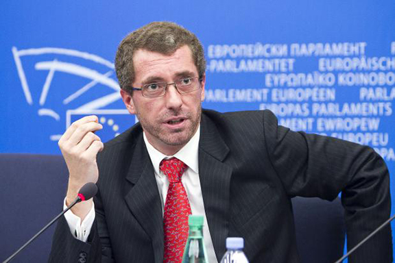 Member of European Parliament Frank Engel in 2010 (Photo: European People's Party Group)