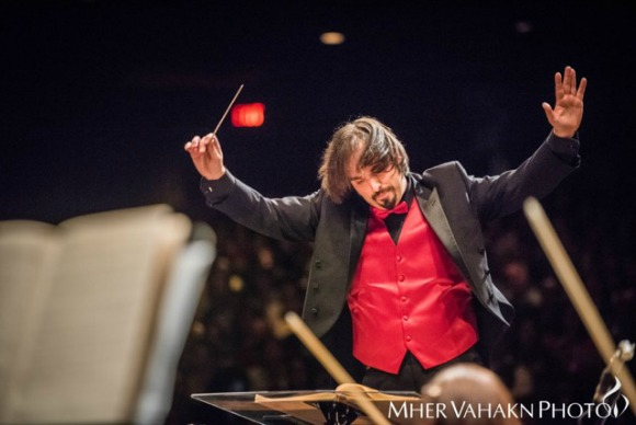 Maestro Greg Hosharian (Photo: Mher Vahakn Photography)