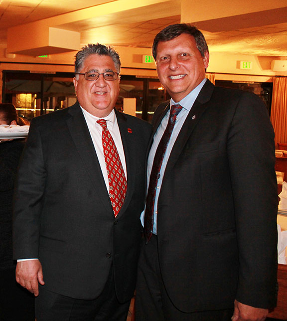 State Senator Anthony Portantino (left) with Glendale City Councilman Ara Najarian