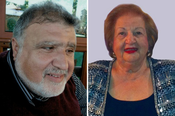 ARS Javakhk Fund to honor Harout Madenian (left) and Emma Salmassian during annual luncheon on April 2, 2017