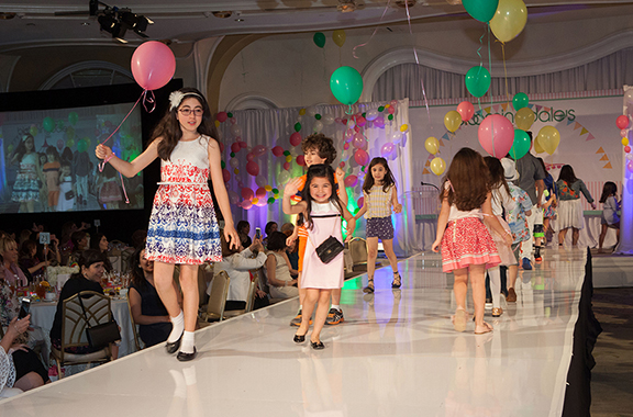 Scene from the Children's Fashion Show