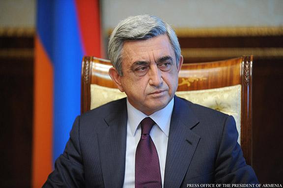 Armenian President Serzh Sarkisian (Photo: Press Office of the President of Armenia)