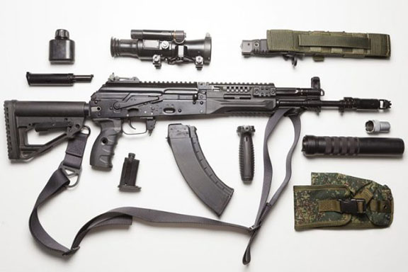 Kalashnikov-12 rifle