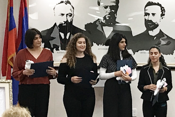Recipients of the Alice Madenlian Scholarship