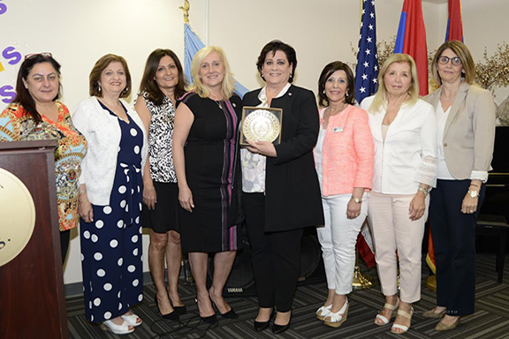 ARS Regional Executive Board with Keynote Speaker Nora Hovsepian (center)
