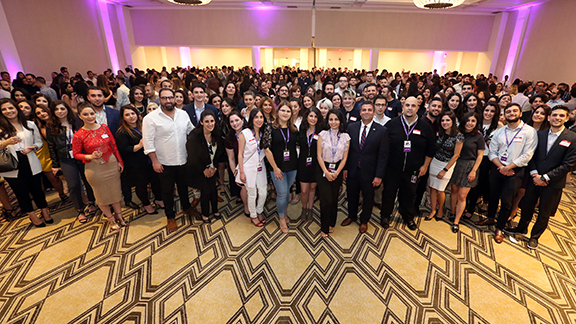 Summer mixer benefiting the Armenian American Museum with more than 700 young professionals