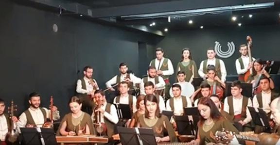"Armenia's Naregatsi Orchestra performs Black Sabbath's song, ""She's Gone,"" in Yerevan"