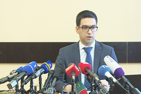 Armenia's newly-appointed Justice Minister Rustam Badasyan