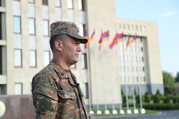 Captain Ruben Sanamyan
