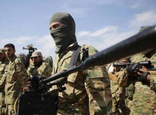 Syrian mercenaries fighting alongside Azerbaijani forces
