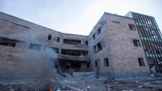 VIEW GALLERY: Stapankert's Maternity Hospital has been destroyed by Azeri attacks